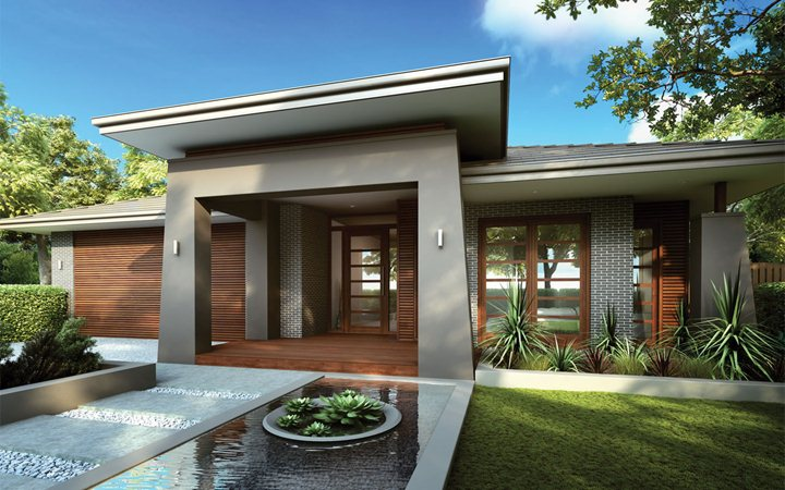 Photo : Metricon Homes Home Designs Images. Virtual House Exterior ...